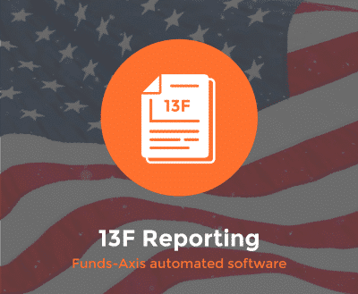 US form 13F Reporting Software
