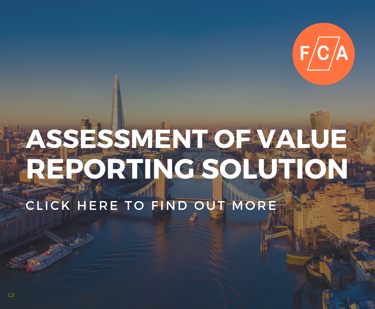Assessment of Value Reporting Solution