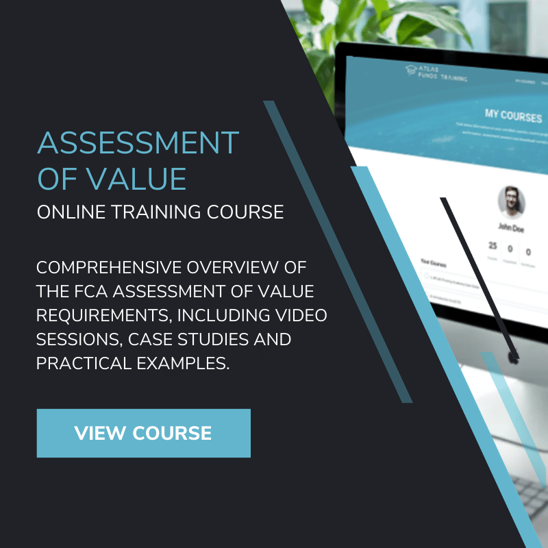 Online FCA Assessment of Value Reporting Training Course