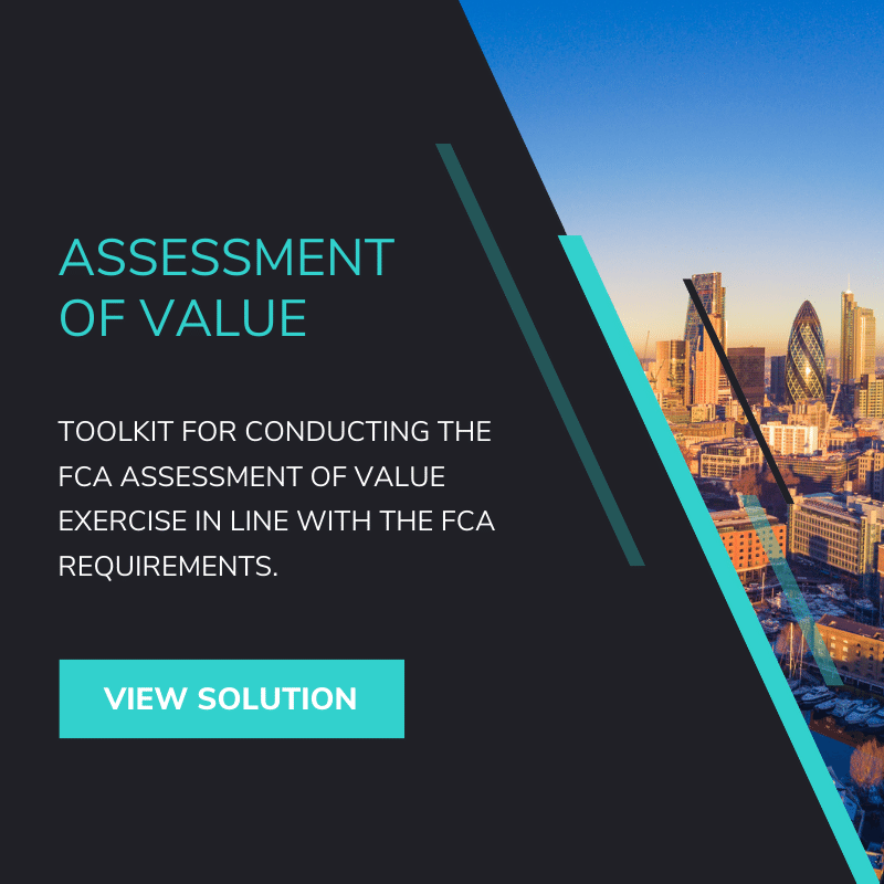 FCA Assessment of Value Reporting Solution