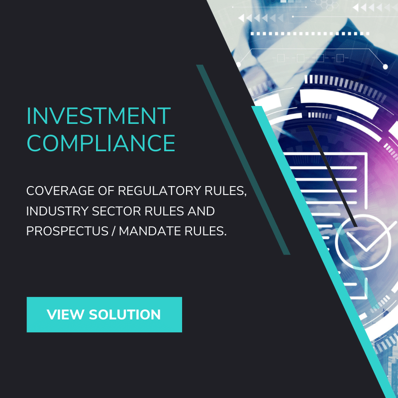 Investment Compliance Monitoring Solution