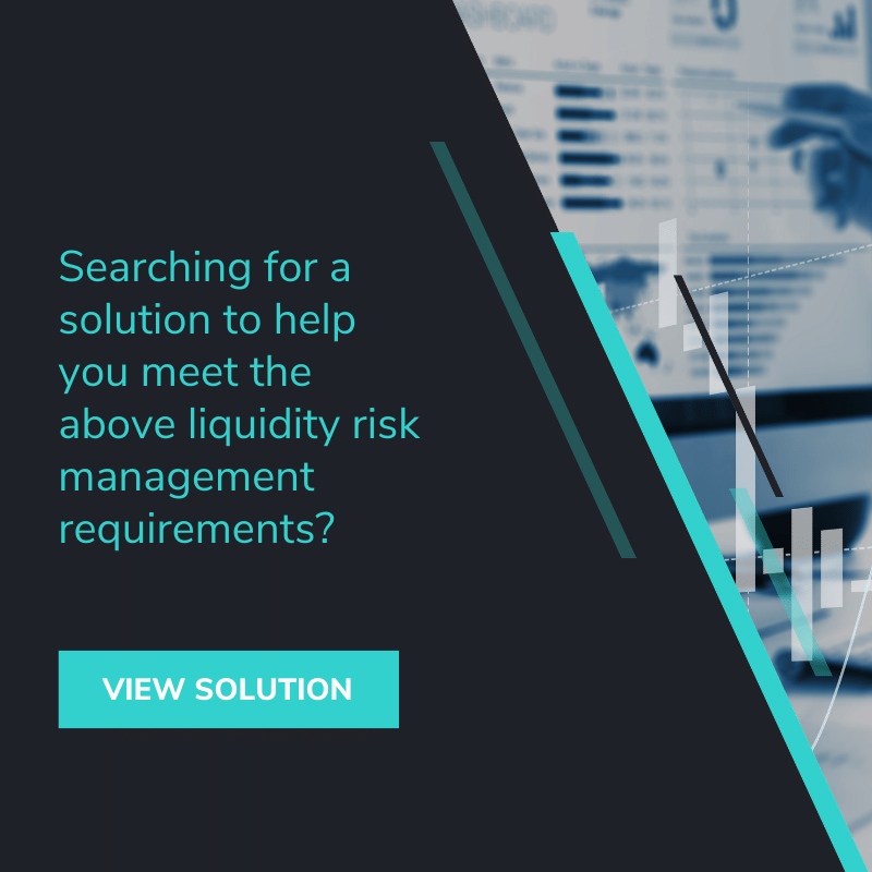 liquidity risk management requirements