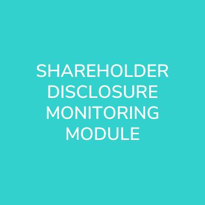 shareholder-disclosure-monitoring-module
